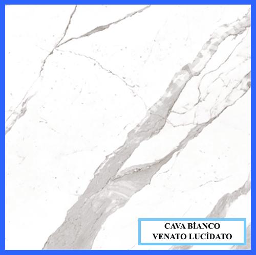Cava Bianco Statuario Venato Lucidato
